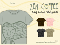 NEW Design on Threadless | Zen Coffee