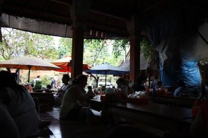 lunch at Ibu Oka, Ubud