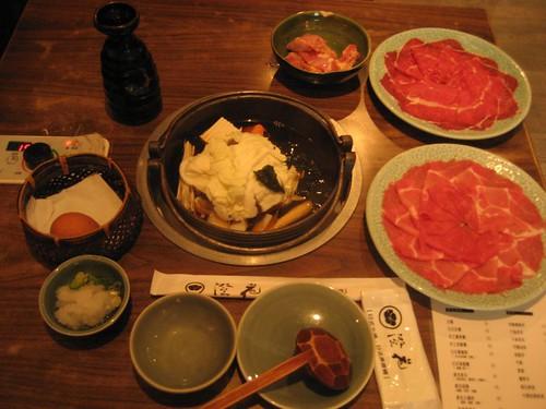 sukiyaki-my set