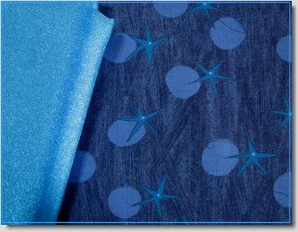 Fabric and Organza