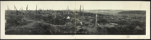 No Mans Land, Flanders Field, France, 1919 (LOC)