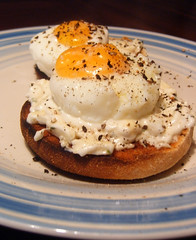 Poached Eggs on Muffins Late Brunch