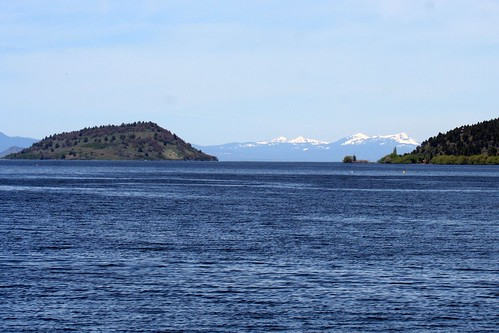 View of Upper Klamath Lake