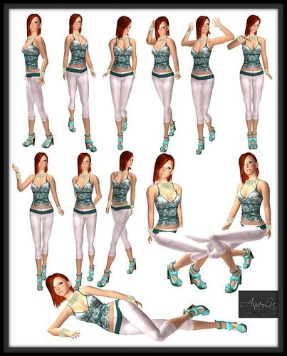 -AnaLu- *fresh poses* (325-336)