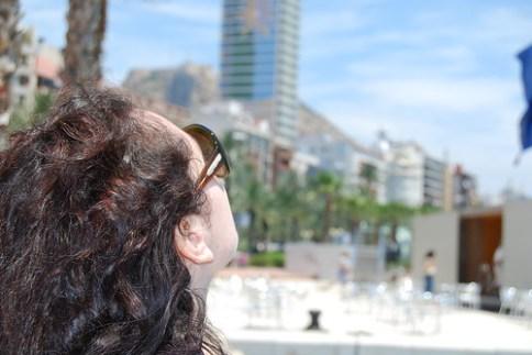 Vero en el Puerto de Alicante
