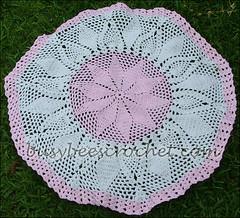 Doily Baby Blanket