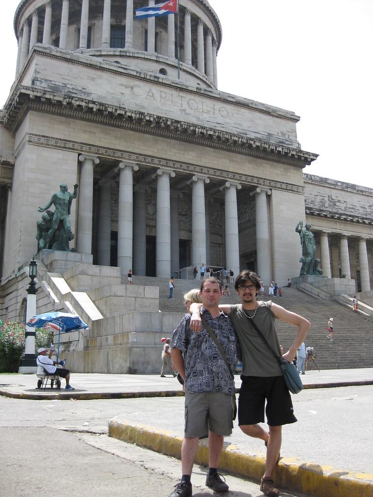En el Capitolio de La Habana