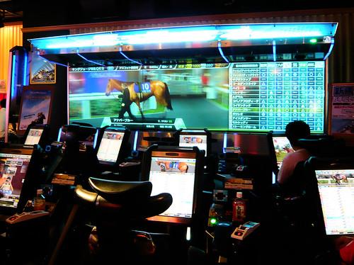 Course de chevaux virtuelle - Inside Taito Station