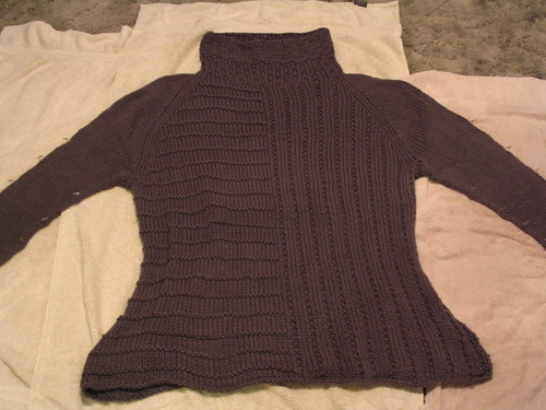 Pewter Tunic Blocking