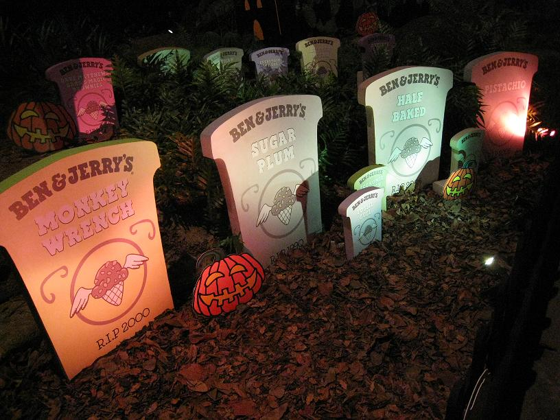 Ben and Jerry's Halloween