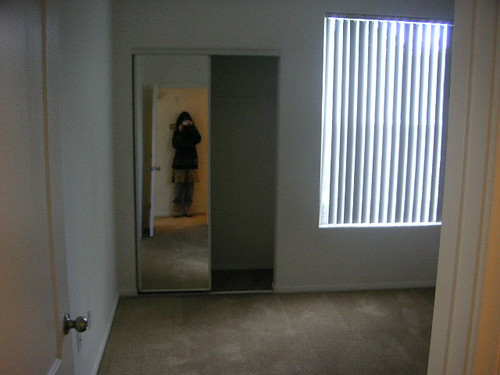 the third bedroom with me in the mirror