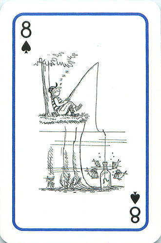 Platnik Fishing Cartoon Playing Cards