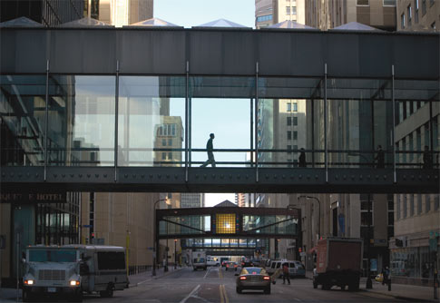 Minneapolis skyway