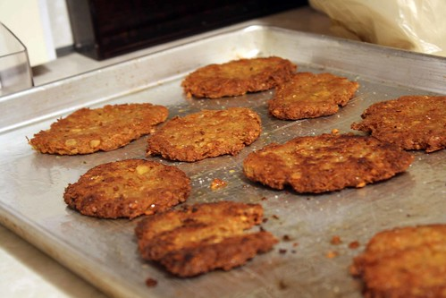 chickpea cutlets mini
