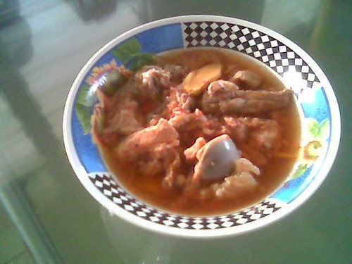 STP's steamed meat with cincaluk