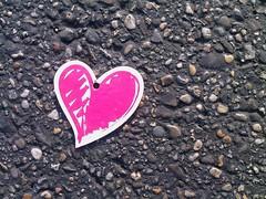 Found Pink Heart