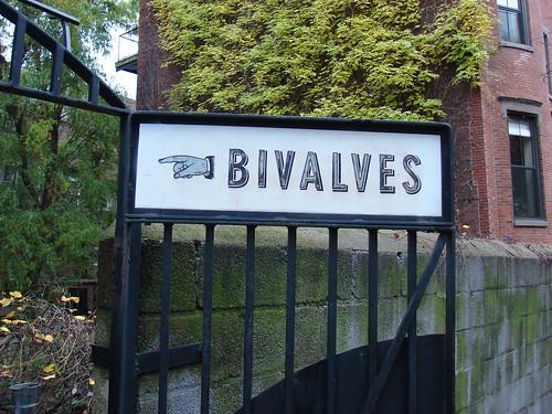 bivalves thissaway...