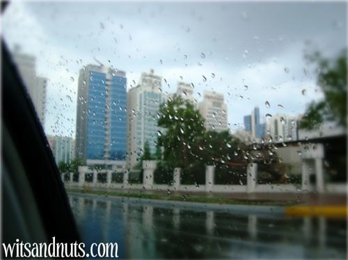 December 3, 2008 Rain Abu Dhabi