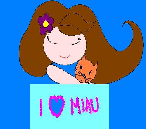 I love Miau