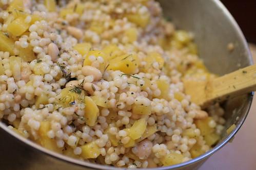 Herbed Rutabaga CousCous Salad