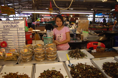 The Fried Insect Stand