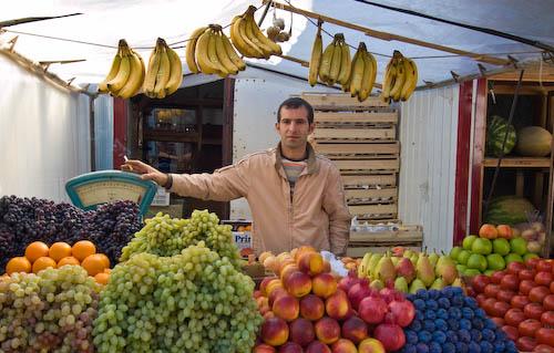 Market in Tomsk