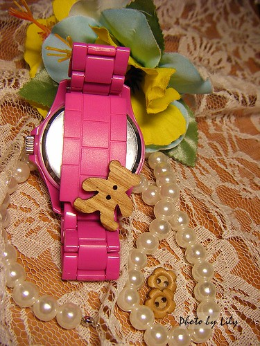 樂高錶的錶帶。