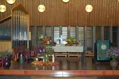 Erntedankaltar 2008 in der Jubilatekirche
