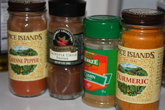 Spices used