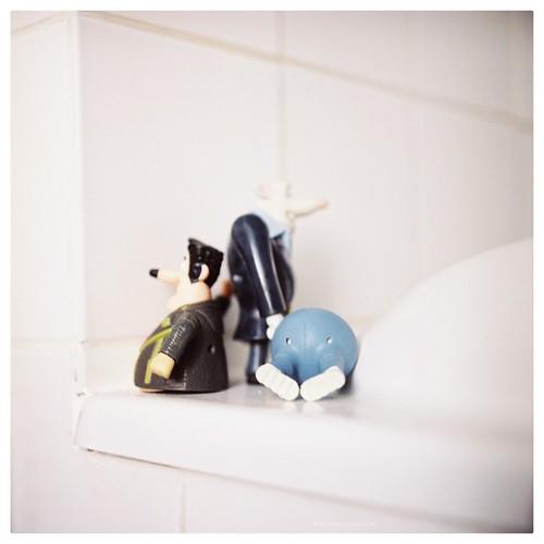 Bathroom (i): flushed away