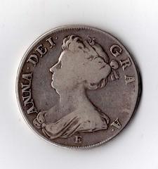 Queen Anne Half- Crown 1707