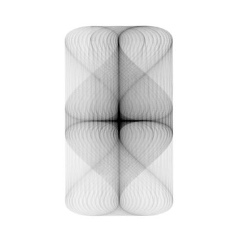 Lámpara etérea creada con Fyre 1.0