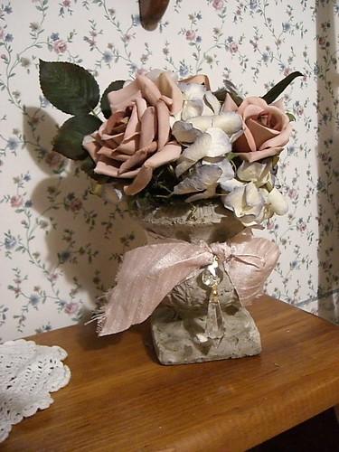 New floral arrangement