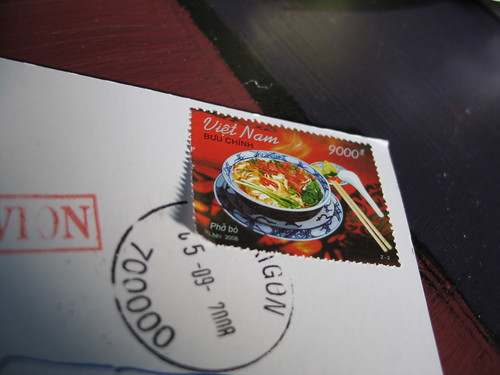 Viet Nam 9000 -- Stamp Of Approval, postcard from ybonesy, Minneapolis, Minnesota, photo © 2008 by QuoinMonkey. All rights reserved.