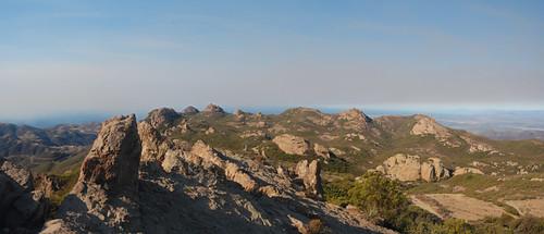 North from Sandstone Peak