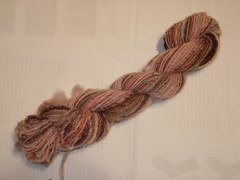 Old Roses Fulled Hand-spun