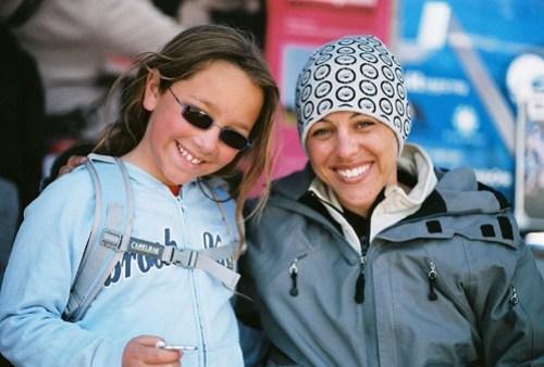 Tara Llanes with Ivy