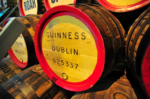 Guinness Brewery - Wooden Keg