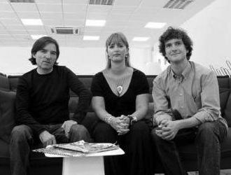 Javier, Sonia y Carlos