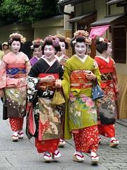 Maiko-henshin in Gion