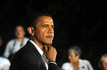 Image of Sen. Obama at UMW
