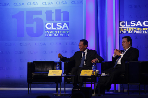 Anwar Ibrahim at CLSA Conference by Anwar Ibrahim.