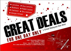 L'Oreal Luxury Warehouse Sale
