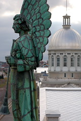 View from the tower at Chapelle Notre-Dame-de-Bon Secours, Montreal-3