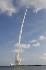 Ares I-X Rocket Into the Blue (NASA, 10/28/09)