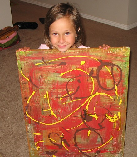 Haven's picture she painted for me.