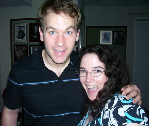 Me and Mike Birbiglia!
