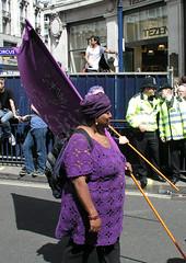 Some bisexuals, London Pride, 2008