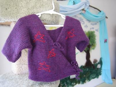 Luke's star sweater