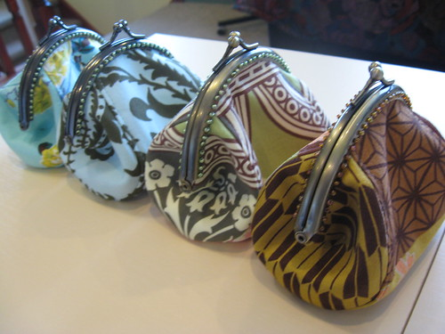 Puff purses by you.